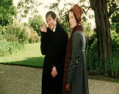 Mr. Collins from Pride and Prejudice, played in 1995 by David Bamber