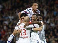 Montpellier vs Lyon 1:5 2015 ~ Match Review & Highlights ~ Liga 1 HD 08/...