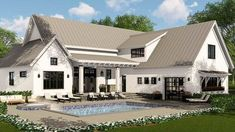 Modern Farmhouse Plan Rich with Features - 14662RK thumb - 06