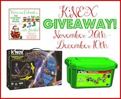 K'Nex Giveaway: 2 winners will win either The Thunderbolt Strike Roller Coaster™ Building Set or the K'NEX Education: FORCE & NEWTON'S LAWS Set.