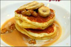 Banana Walnut Pancake - Cafe Matchbox 1960s-Style Cha Chaan Teng @ Causeway Bay, Hong Kong