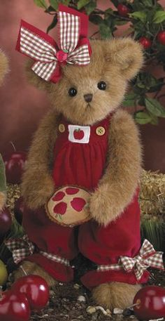 Dee Licious and her yummy apple pie were introduced by Bearington Bears in the fall of 2013.