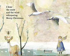 Sacredbee Greeting Cards by PamelaZagarenski Christmas Quotes, Christmas Love, Christmas Greetings, All Things Christmas, Christmas Holidays, Christmas Crafts, Merry Christmas, Christmas Thoughts, Happy Holidays