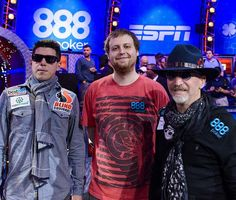 World Series of Poker Main Event Final Table Down to Final Three; Play Resumes Tuesday at 6pm (Pictured: Joshua Beckley, Joe McKeehen and Neil Blumenfield – Photo credit: Jayne Furman/WSOP)