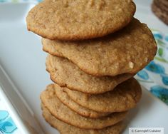Almond Butter Banana Cookies - kid approved !