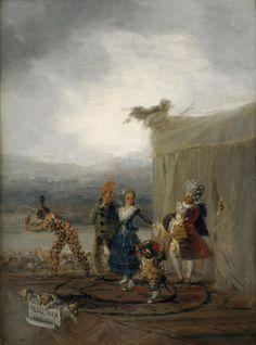 Francisco de Goya (1746–1828) Itinerant Actors (1793) Los comicos ambulantes - Museo del Prado, Madrid