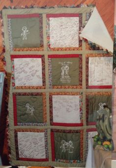 1000+ images about wedding quilt ideas on Pinterest Signature quilts, Guest books and Wedding ...