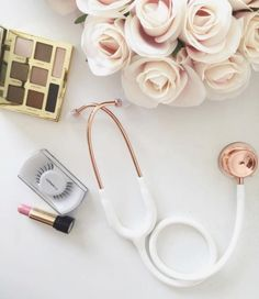 A Valentine's gift that won't wilt! The Rose Gold MD One Stethoscope!