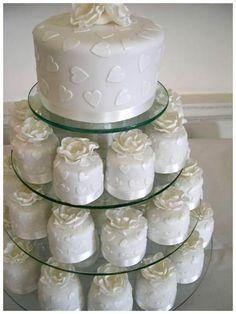 Le Blog: Le cupcake le gateau de mariage tendance!