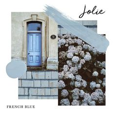 Jolie Paint in FRENCH BLUE is a baby blue color that is most well-known for the paintwork throughout the Palace of Versailles. It is inspired by the design of King Louis XVI and Marie Antoinette. Blue Paint Colors, Chalk Paint Colors, Baby Blue Colour, Light Blue Aesthetic, Palace Of Versailles, Le Jolie, French Countryside, French Blue, Colors