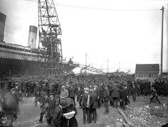 Building the Titanic.