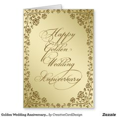 50th wedding anniversary greeting card card ideas pinterest golden wedding anniversary greeting card m4hsunfo