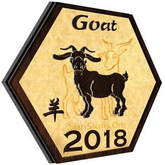 The goat horoscope 2018 forecasts that this year is about enjoying yourself as well as preparing for the future.