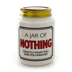 Jar of Nothing - Large