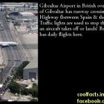 Random Fact about Gibraltar Airport