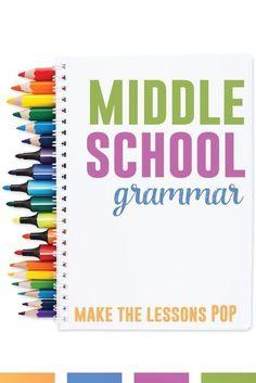 Middle School Grammar | Language Arts Classroom