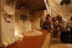 Nazareth is the place in the Holy Land where the Incarnation of God occurred www.ffhl.org #Franciscan #HolyLand