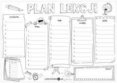 Plan lekcji. Wariant 10 - Printoteka.pl