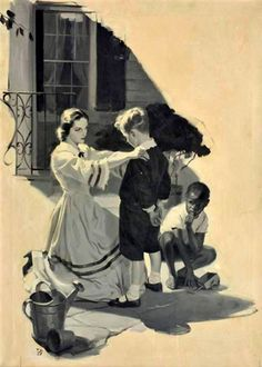 Woman And Children