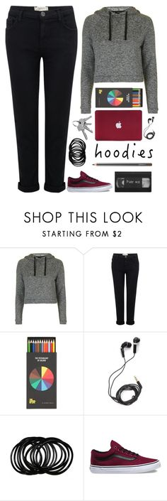 """HOODIES"" by dianakhuzatyan ❤ liked on Polyvore featuring Topshop, Current/Elliott, Polite, DEOS, Vans, MAC Cosmetics, contest, Hoodies, contestentry and polyvoreeditorial"