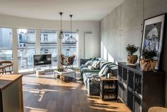adelaparvu.com despre apartament de 2 camere in stil scandinav, Polonia, Design Shoko Studio (6)