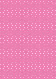 Pink n polka dot Pink Wallpaper, Wallpaper Backgrounds, Scrapbook Paper, Scrapbooking, Paper Art, Paper Crafts, Decoupage Paper, Printable Paper, Pattern Paper
