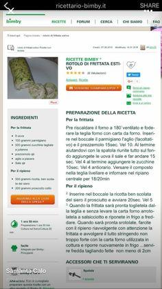 Rotolo di frittata di zucchine