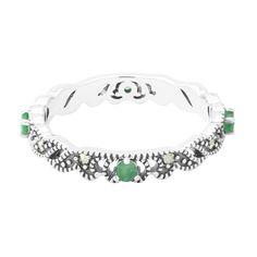 Zilveren+ring+met+smaragden+-+een+bijzonder+sieraad+direct+van+de+maker+en+dus+scherp+geprijsd.+Alle+Juwelo+sieraden+komen+met+certificaat+van+echtheid.