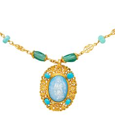 Byzantine Angel Pendant Necklace - The Met Store