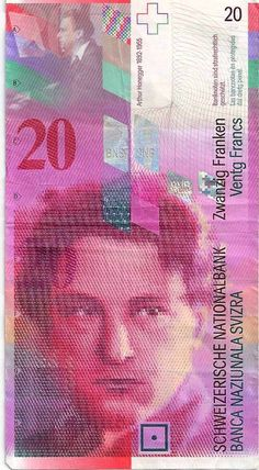 20 Swiss franc note obverse