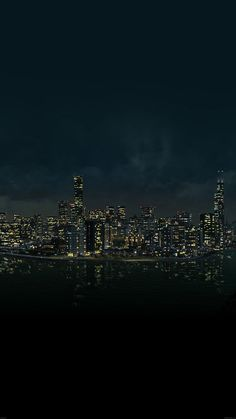 watchdog-night-city-view-from-sea-34-iphone6-plus-wallpape… | Flickr