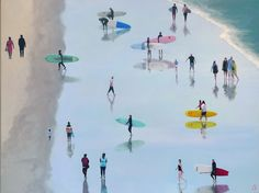 Available to buy online, Long Boards by Alex Marmarellis, a Cape Town beachscape scene on canvas, size 126 x 95 x 5 cm. Deep Shadow Box, Shadow Box Frames, Paintings For Sale, Online Art Gallery, Boards, Scene, African, Canvas, Artist