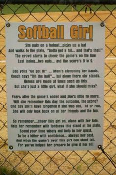 💖💖💖💖💖❤❤❤❤This Reminds me of the very last game that I played and cried my eyes out Softball Chants, Softball Memes, Softball Party, Softball Drills, Softball Gifts, Softball Players, Girls Softball, Fastpitch Softball, Softball Stuff