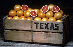 Ruby Red Grapefruit from the Rio Grande Valley. I LOVE my Texas Grapefruit & eat one every day!