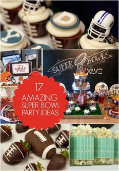 Unique Super Bowl Party Decorations