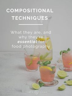 Compositional Techniques, what they are and how to use them in your food photography