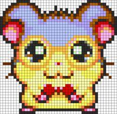 Dexter Ham Ham Perler Bead Pattern / Bead Sprite