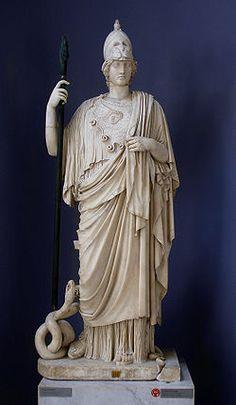 Atenea  es la diosa de la guerra, civilización, sabiduría, estrategia, de las artes, de la justicia y de la habilidad.- Wikipedia, la enciclopedia libre