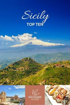 Our top ten things to see, do and eat in Sicily.  Image credit:  Anna Lurye   Dalibor Kastratovic   lsantilli   Shutterstock