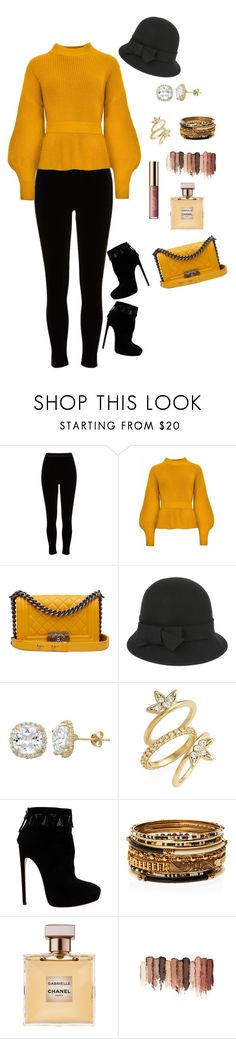 """Tuesday Falls"" by lalalace-1 ❤ liked on Polyvore featuring River Island, Chanel, Accessorize, Gioelli, Luv Aj, Alaïa, Amrita Singh and tarte"