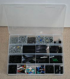 #Lego #storage #floss box