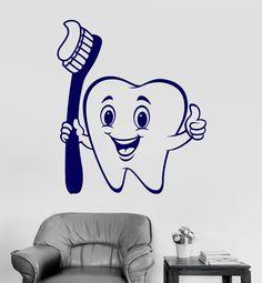Dentiste Vinyle Horloge Murale cabinet dentaire Décoration Nursery parties thèmes Chambre