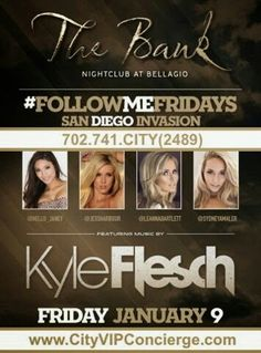 #FollowMe Friday January 9th at The BANK Nightclub Las Vegas. Contact 702.741.2489 City VIP Concierge for Tickets, Table and Bottle Service and the Best of Las Vegas VIP Services. #TheBANKLasVegas #BANKNightclubLasVegas #VegasVIPServices #LasVegasVIPServices #VegasBottleService #LasVegasBottleService #VegasNightclubs #LasVegasNightclubs #CityVIPConcierge CALL OR CLICK TO BOOK http://www.cityvipconcierge.com/las-vegas-nightlife.html