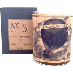 Stormy Black Fig Wood Candle No. 5 – Spitfire Girl