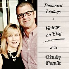What a great interview! Cindy Funk has made over 5,000 sales on Etsy in a super unique vintage niche. She's always testing and tweaking, so it was great to hear what she's doing with promoted listings, and how she keeps her customers coming back. How to get sales on Etsy. Vintage Etsy Seller Advice. | brilliantbusinessmoms.com