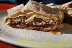 Mandy kertje és konyhája : Almás diós rétes Filo Pastry, Beef, Dios, Filo, Meat, Steak