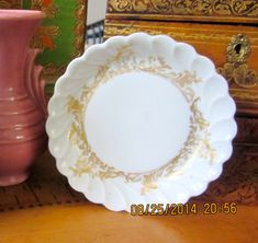 Antique Haviland Limoges Pin Dish  Ethereal Gold by angelinabella, $15.00