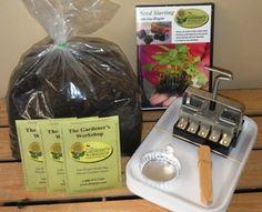 --Kit, Soil Blocking - for starting seeds