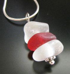 Sea Glass Jewelry Genuine Beach Combed Rare by WestCoastSeaGlass, $96.00