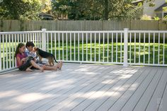 Titan Pro Railing was created with the installer in mind. ideal for residential or commercial applications. Outdoor Stair Railing, Deck Railings, Stair Brackets, Vinyl Railing, Balcony Deck, Building Code, Waterproof Flooring, Outdoor Living, Outdoor Decor